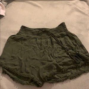 green true craft shorts